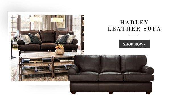 Shop Hadley Leather Sofa