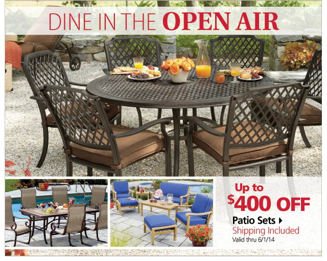 BJs Wholesale Club Great Savings on Outdoor Furniture