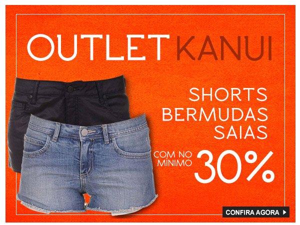 Todos os shorts, bermudas e saias - Minimo 30% Off