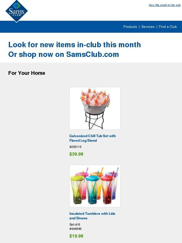Sam S Club New Items At Sam S Club This Month Milled