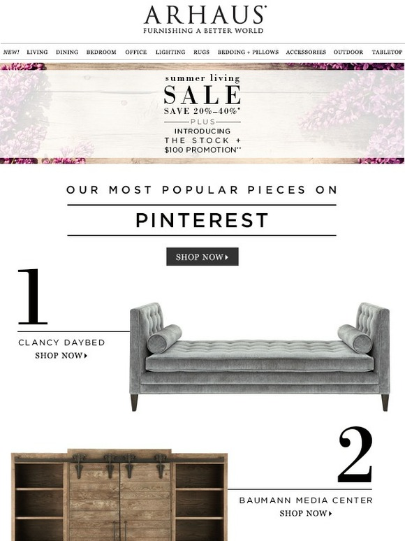 Arhaus Shop Our Most Popular Pieces On Pinterest Milled