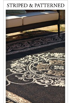 Frontgate Save 20% on outdoor rugs FREE shipping