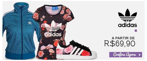 Adidas Originals a partir de R$69,90