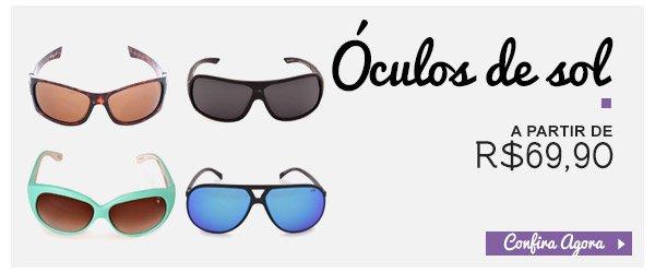 Oculos de Sol - A partir de 69,90