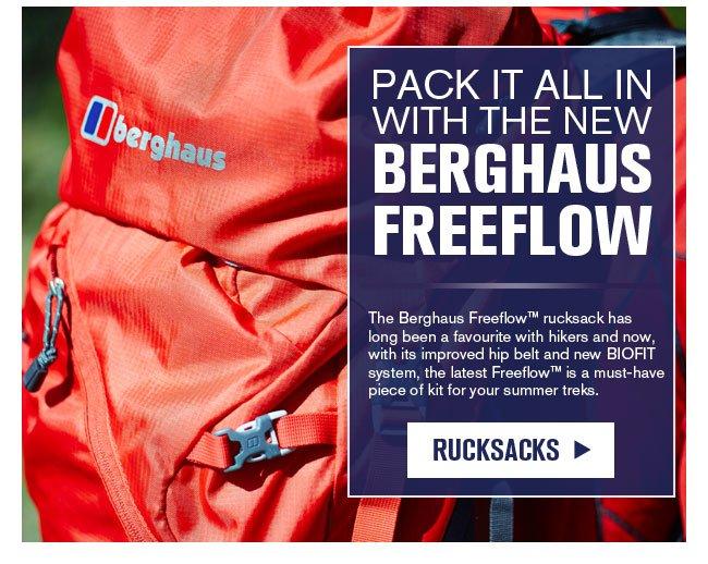 Berghaus rucksacks
