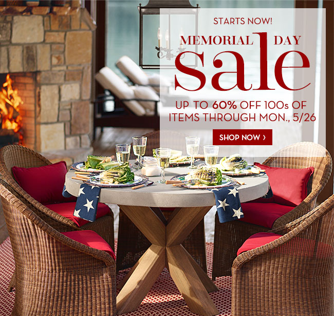 Pottery Barn Starts Now The Memorial Day Sale Is Here Milled