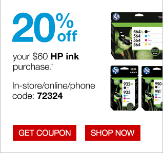 Staples coupon codes for hp ink