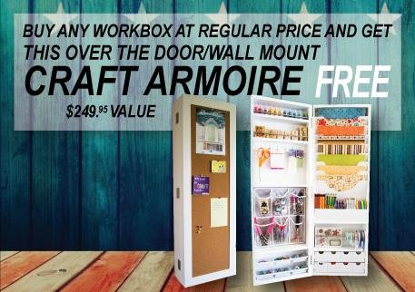 Bon This Compact Craft Armoire Is Perfect For Those Who Need A Little Extra  Spacee To Store Their Never Ending Craft Supplies!
