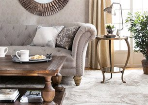 Rustic Luxe Living Room Refresh