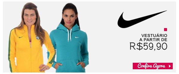Vestuario Nike a partir de R$59,90