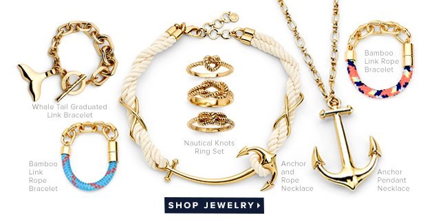Get roped in - bright nautical accents inspired by summers spent seaside.