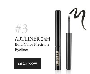 #3 ARTLINER 24H Bold Color Precision Eyeliner SHOP NOW