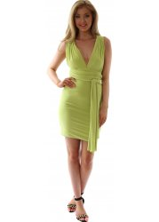 Lime Green Endless Ways To Wear Dress