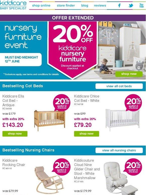 Kiddicare Nursery Furniture Event