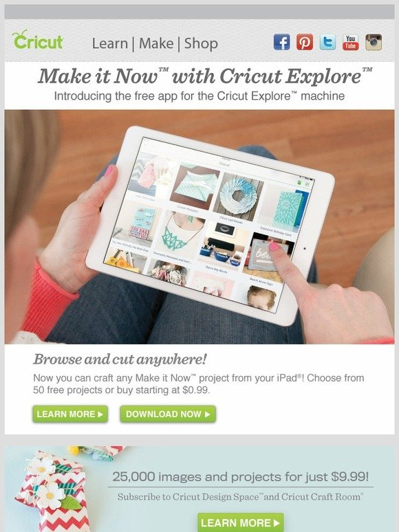 Cricut Announcing Cricut S Very First Ipad App Make It Now Milled
