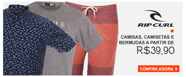 Rip Curl - Camisetas, Camisas, Bermudas - a partir de 39,90