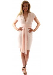 Blush Peach Endless Ways To Wear Dress