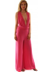 Hot Pink Endless Ways To Wear Jumpsuit