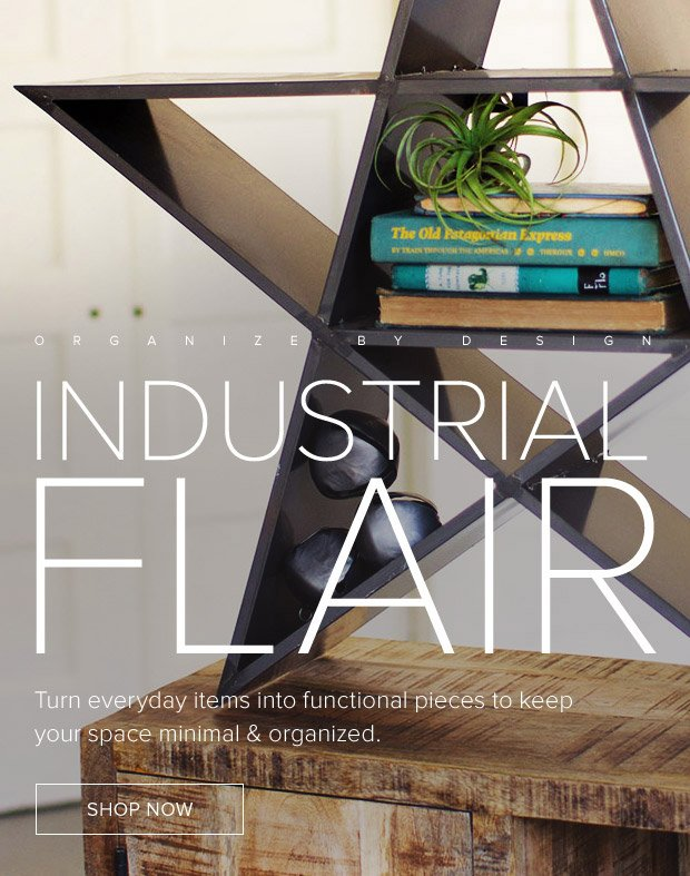 Dot & Bo: Industrial Flair - Modern Design to Simplify ...
