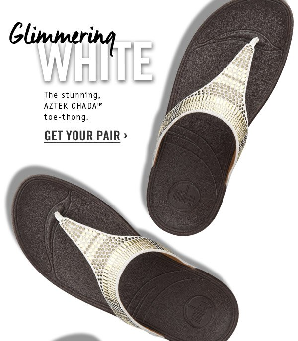fitflop aztec chada white