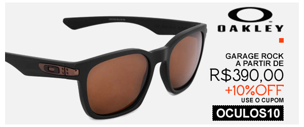 Oculos Oakley Garage Rock - a partir de 390 - 10% OFF