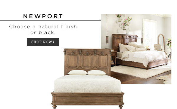Shop Newport Natural Bed