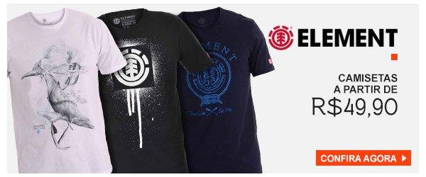 Camisetas Element - a partir de 49,90