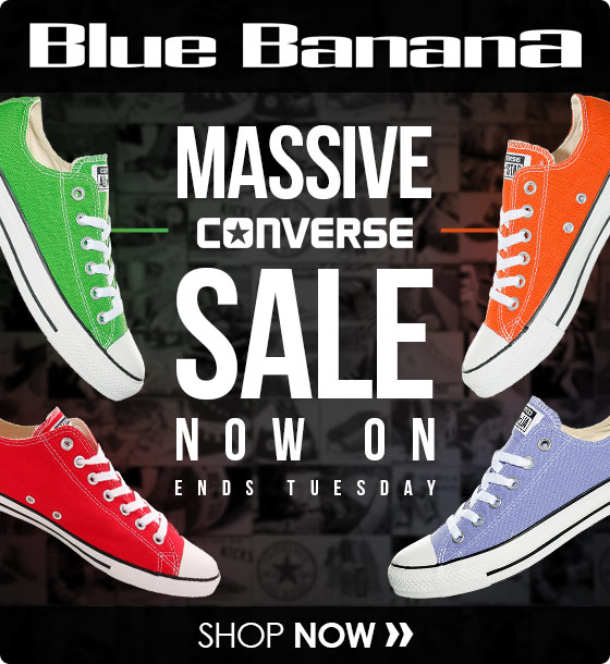 Pizza sí mismo ligado  Blue Banana: ALERT: Cheap Converse From £29.99 Until Tuesday | Milled