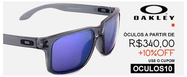 Oculos Oakley - a partir de 340 - cupom cumulativo de 10% OFF