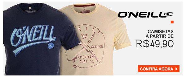Camisetas O'neill - a partir de 49,90