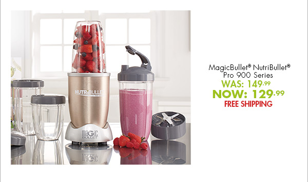 bed bath and beyond: we're chopping prices on nutribullet! don't