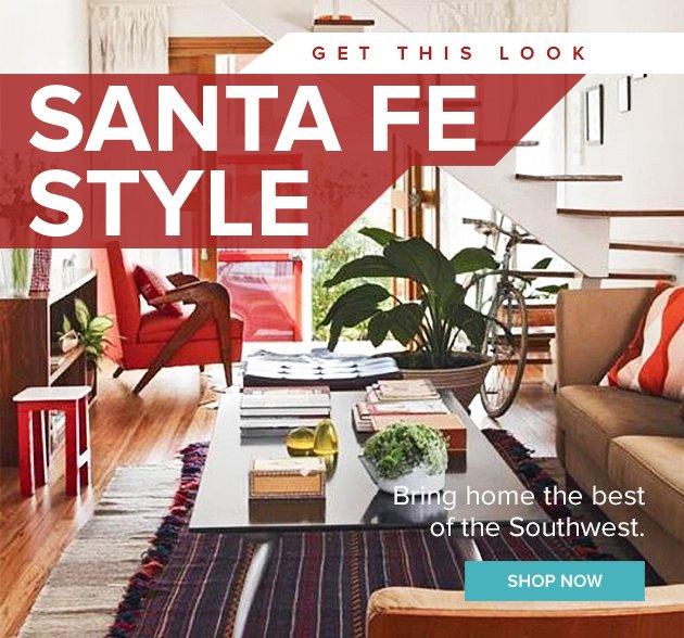 Santa fe style decor