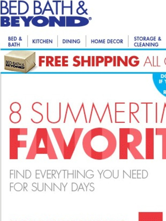 bed bath and beyond check out these summer favorites plus your 20 offer is waiting milled. Black Bedroom Furniture Sets. Home Design Ideas