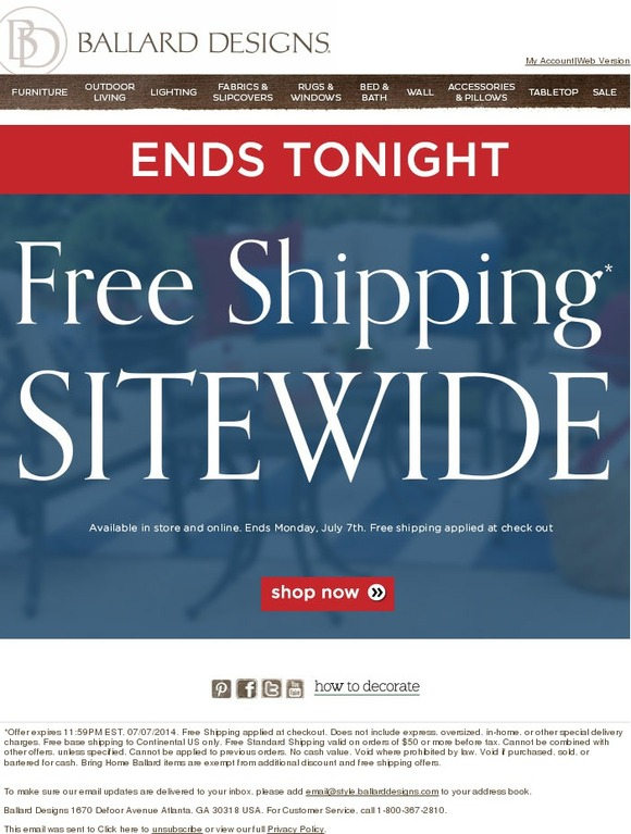 Coupon Ballard Designs ballard design coupons free shipping / delissio pizza coupons canada