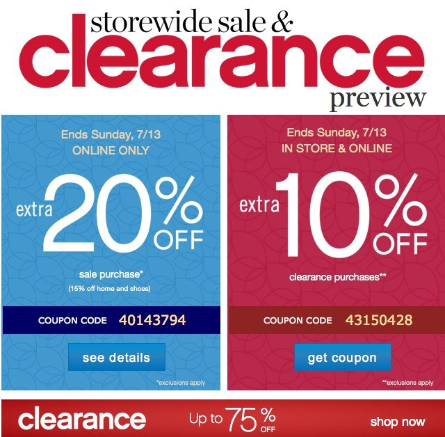 Belk clearance coupon code 2018