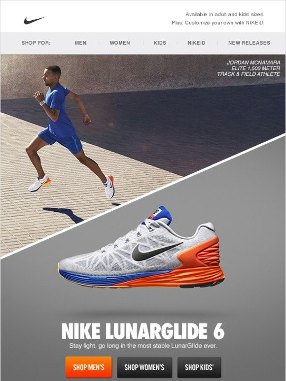 5329e7f6be21 Nike plus +  Just In  the New Nike LunarGlide 6