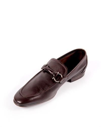 Salvatore Ferragamo Leather Horsebit Loafers