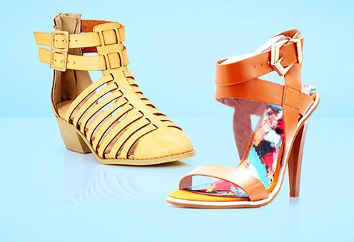 Flats, Wedges, Sandals and More