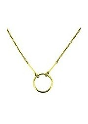 Kismet Karma Yellow Gold Necklace
