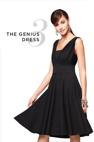 Genius dress white house black market