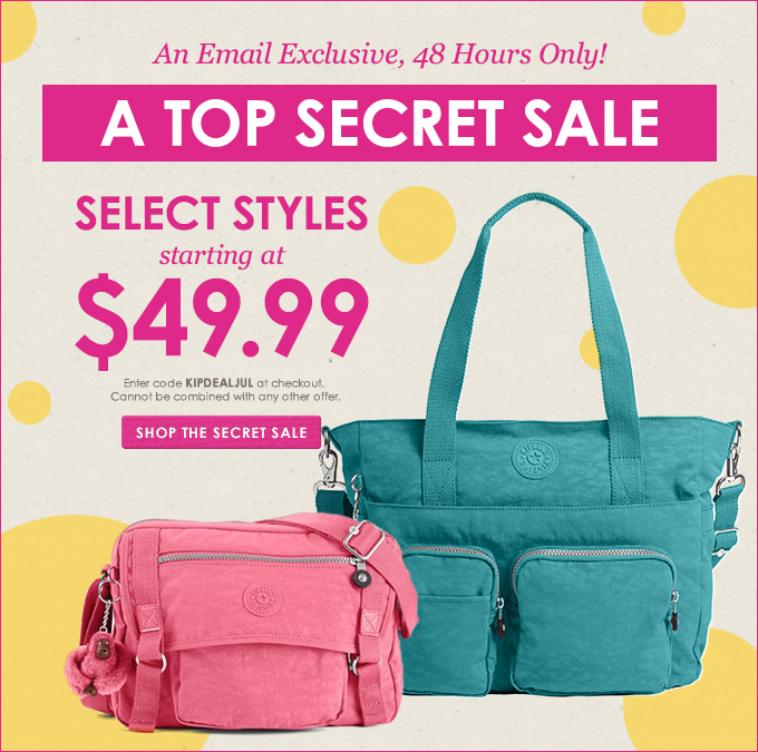 Kipling USA  Just for you. Love e95a3216bbece