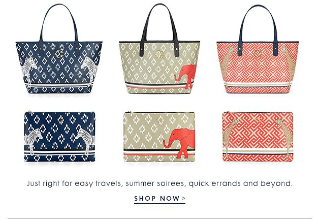 refreshed with animal motifs and oh-so-classic prints.