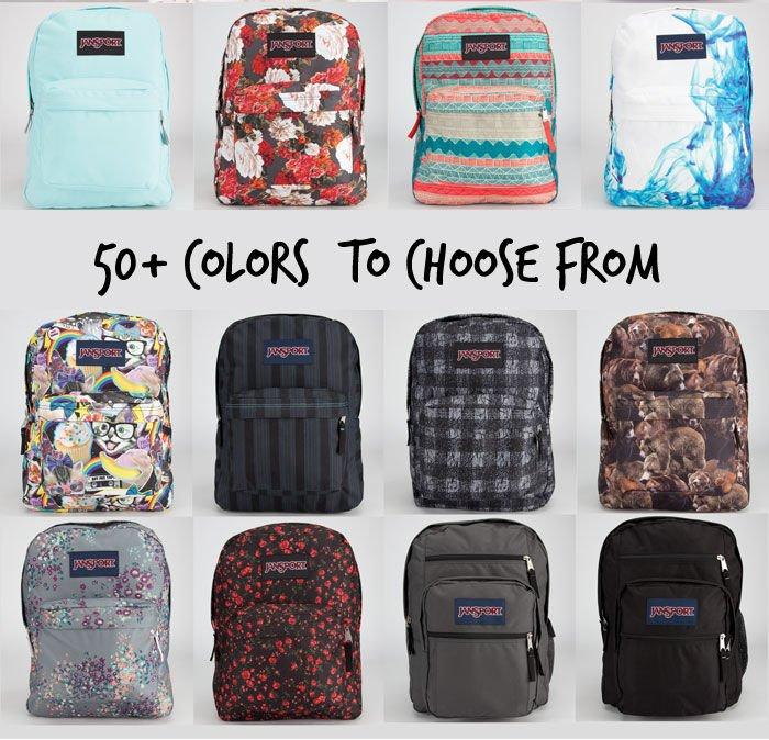 Tilly's: JanSport Backpacks - $5 Off SuperBreak & Big Student ...