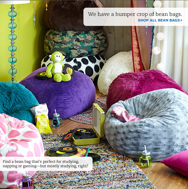 Pier 1 Pick A Few Bean Bags For Your Dorm Room Game Room