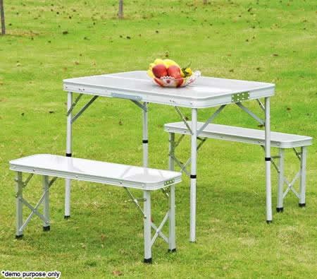 Crazy S Ends Soon Folding Picnic Table Set 54 95