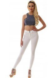 Plenty White High Waisted Jeggings