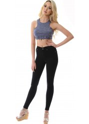 Plenty Black Skinny High Waisted Jeggings