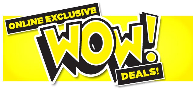 Go Outdoors: New WOW deals