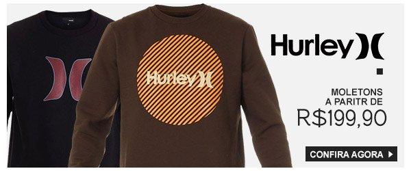 Moletons Hurley a partir de 199,90