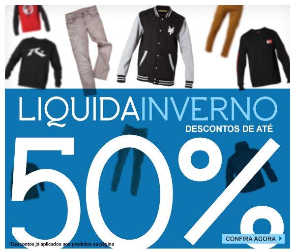Liquida Inverno Ate 50% off